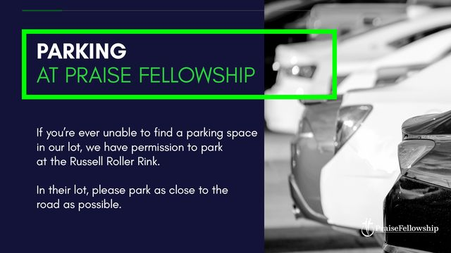 parking at praise fellowship.jpg